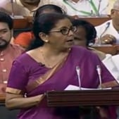 A new series of visually-impaired friendly circulation coins will be made available for public use soon, Union Finance Minister Nirmala Sitharaman said on Friday.(ANI Twitter)