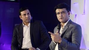 File photo of VVS Laxman and Sourav Ganguly.(LightRocket via Getty Images)