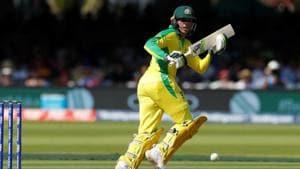 Australia's Usman Khawaja in action.(Reuters)