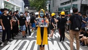 Barring an unforeseen turn of events, the anti-government movement will, like previous demonstrations in Hong Kong, be rolled into the history footnotes. But the protests will probably result in the shelving of the extradition law that triggered all this upheaval in the first place and the premature replacement of the chief executive(AP)