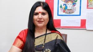 Geeta Gangwani, principal, Bal Bharati Public School, Rohini(HT)