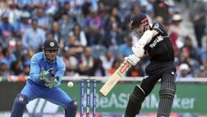 India vs New Zealand, semi-final: Kane Williamson struggled(AP)