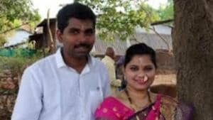 The missing couple has been identified as Aditya Amre, 30, and Sarika Amre, 28. at Panvel in Navi Mumbai, India, on Tuesday, July 9, 2019.(HT Photo)