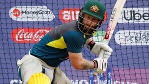 Australia's Matthew Wade during nets.(Reuters)