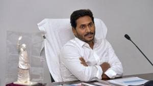 Jagan Reddy also announced the release of Rs 1 crore each to all the 175 MLAs in the state, irrespective of their political affiliation, to help them take measures to resolve the drinking water scarcity in their respective constituencies.(PTI)