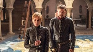 Nikolaj Coster-Waldau (right) and Lena Headey as Jaime Lannister and Cersei Lannister in Game of Thrones.
