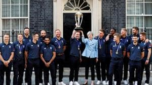 Eoin Morgan's men - Many nations, one England