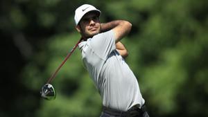 A file photo of golfer Shubhankar Sharma.(AFP)