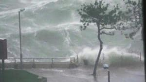 Taiwan issues warnings for year's first typhoon as thousands evacuated
