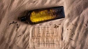 Australian finds message in a bottle written 50 years ago