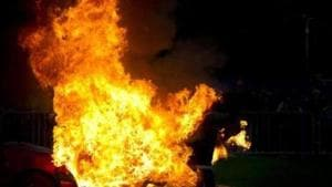 Ghaziabad woman sets herself, two kids on fire