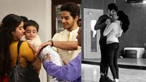Janhvi Kapoor and Ishaan Khatter shared several throwback pictures on completion of one year of Dhadak.(Instagram)
