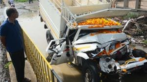 Two injured in another collision on Pune-Solapur highway