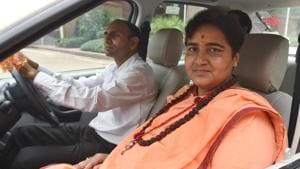 'Not getting your toilets cleaned': Pragya Thakur to BJP worker in MP