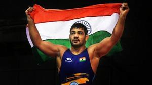 India wrestler Sushil Kumar(Twitter)