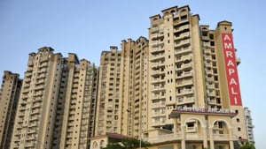 Life in Amrapali flats: No water, fire safety or security systems