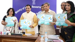 A senior official in the HRD ministry said the ministry is yet to formally receive the proposal from the RSS offshoot. (Photo @HRDMinistry)
