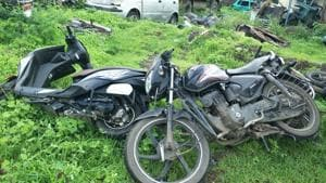 Three motorcycle-borne youths killed in a road accident in Pune's Khed Shivapur