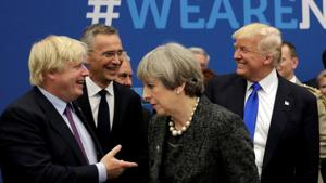 British Prime Minister Johnson 'will be great':Trump reacts