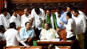 As Karnataka trust vote nears, Bengaluru police ban protests in city