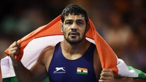 A file photo of Indian wrestler Sushil Kumar.(AFP)