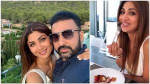Shilpa Shetty is with her husband Raj Kundra in Spain.