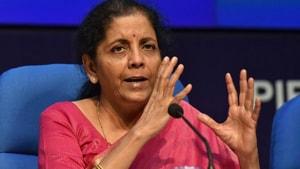 Finance minister Nirmala Sitharaman(HT Photo)