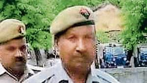 The matter was brought to the knowledge of UP director general of police (DGP) Om Prakash Singh, who then took up the matter at an appropriate level.(HT Photo)