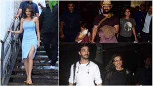 Anushka Sharma at ad shoot, Aamir Khan and Sushmita Sen at the airport.(Varinder Chawla)