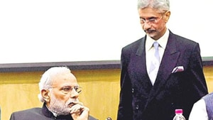 Prime Minister Narendra Modi and external affairs minister S Jaishankar(PTI Photo)