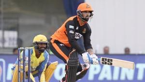 Murali Vijay batting left-handed in Tamil Nadu Premier League.(TNPL)