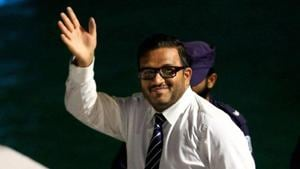 Former vice president of Maldives Ahmed Adheeb Abdul Ghafoor, who had sought political asylum from India, has been sent back to his home country, police said on Saturday.(AP File Photo)