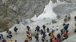 After Amarnath Yatra, the 43-day Machail Mata Yatra in Kishtwar district was also suspended on Saturday due to security reasons.(PTI)