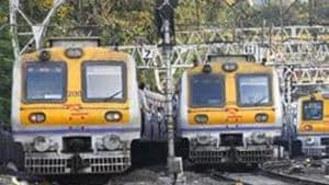 CR had elevated the tracks in the section before monsoon, in order to avoid flooding.(Hindustan Times)