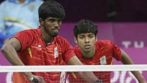 A file photo of Chirag Shetty & Satwiksairaj Rankireddy.(Twitter)