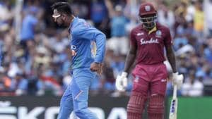 2nd T20I:India beat West Indies by 22 runs (DLS)