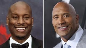 Tyrese Gibson has attacked Dwayne Johnson for breaking up the Fast & Furious family.