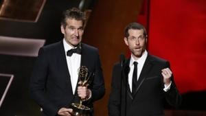 David Benioff and DB Weiss have struck a multi-year deal with Netflix.(REUTERS)