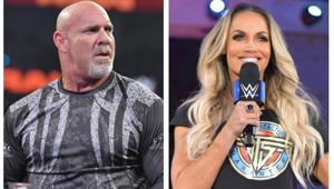 Goldberg and Trish Stratus return.(WWE)