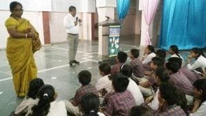 Concepts such as good touch and bad touch, eve-teasing and child abuse were discussed(HT)