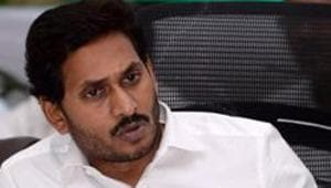 Andhra Pradesh chief minister YS Jagan Mohan Reddy also proposed to take back 412.57 acres of land given on lease to the Machilipatnam Port Private Limited (MPPL).(ANI PHOTO.)