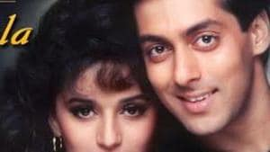 Salman Khan and Madhuri Dixit won hearts when the film released 25 years ago and they impressed one and all yet again as they recreated the magic on stage.