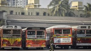 A month since it slashed its fares, the ridership of Brihanmumbai Electric Supply and Transport (BEST) buses shot up by around 10 lakh.(Kunal Patil/HT Photo)