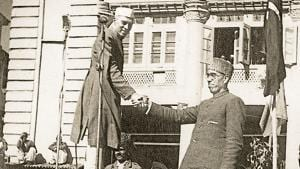 Three facts about modern Kashmiri history are true. Pakistan has promoted violence; Kashmiris have not atoned for ethnic cleansing of Pandits; and the Indian State has been arbitrary and authoritarian. The first crime committed was the arrest of Sheikh Abdullah by the Jawaharlal Nehru government(HT Archive)