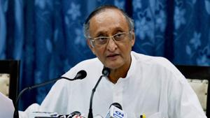 West Bengal finance minister Amit Mitra on Saturday predicted that a deep depression is staring at the Indian economy.(PTI File Photo)