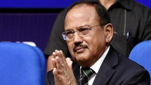 National Security Advisor Ajit Doval has to ensure that Bakr Eid passes off peacefully, and Pakistan's effort to engineer violence on August 14, its independence day, is neutralised to a large extent.(Mohd Zakir/HT PHOTO)