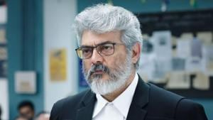 Nerkonda Paarvai: Ajith has played a lawyer for the first time in his career.(Instagram)