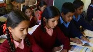 The Education department has sent a directive to the heads of all schools to prepare a routine accordingly.(HT File Photo)