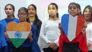 Students were enlightened about the importance of foreign languages(HT)