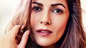 Nimrat Kaur is currently shooting for the web show Homeland.